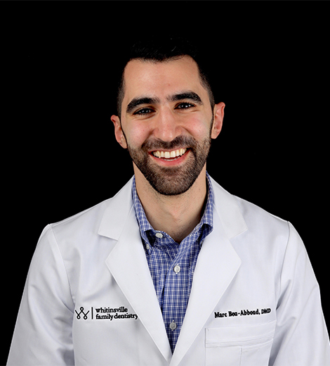 Whitinsville dentist Dr. Marc Bou-Abboud