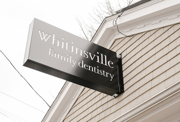 Whitinsville Family Dentistry sign